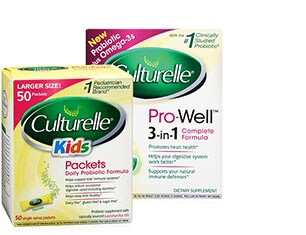 Culturelle Probiotic Supplements
