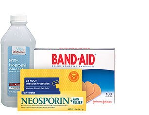 Select First Aid products from Neosporin, Band-Aid, Walgreens brand and more