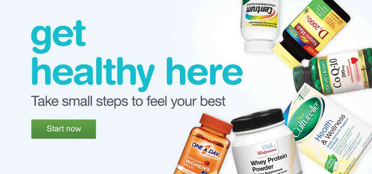 Get healthy here. Take small steps to feel your best. Start now.