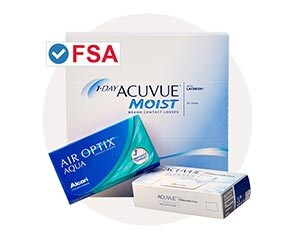 FSA Approved Contact Lenses