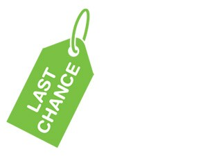 Last-chance deals on clearance products