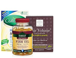 Vitamins & Supplements from from Culturelle, Finest Nutrition and more