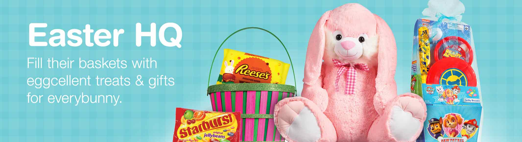 Easter walgreens easter hq fill their baskets with eggcellent treats gifts for everybunny negle Gallery