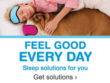 Feel good every day. Sleep solutions for you. Get solutions.