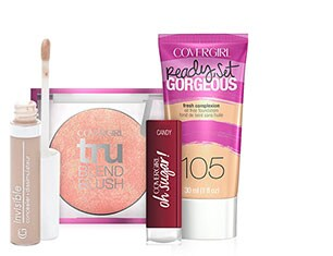COVERGIRL Foundation, Primer, Concealer, Blush, Powder, Lip and Nail Cosmetics