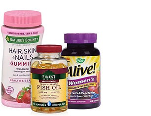 Vitamins & Supplements from Nature's Bounty and more