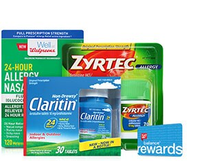 Balance(R) Rewards - Allergy Relief products