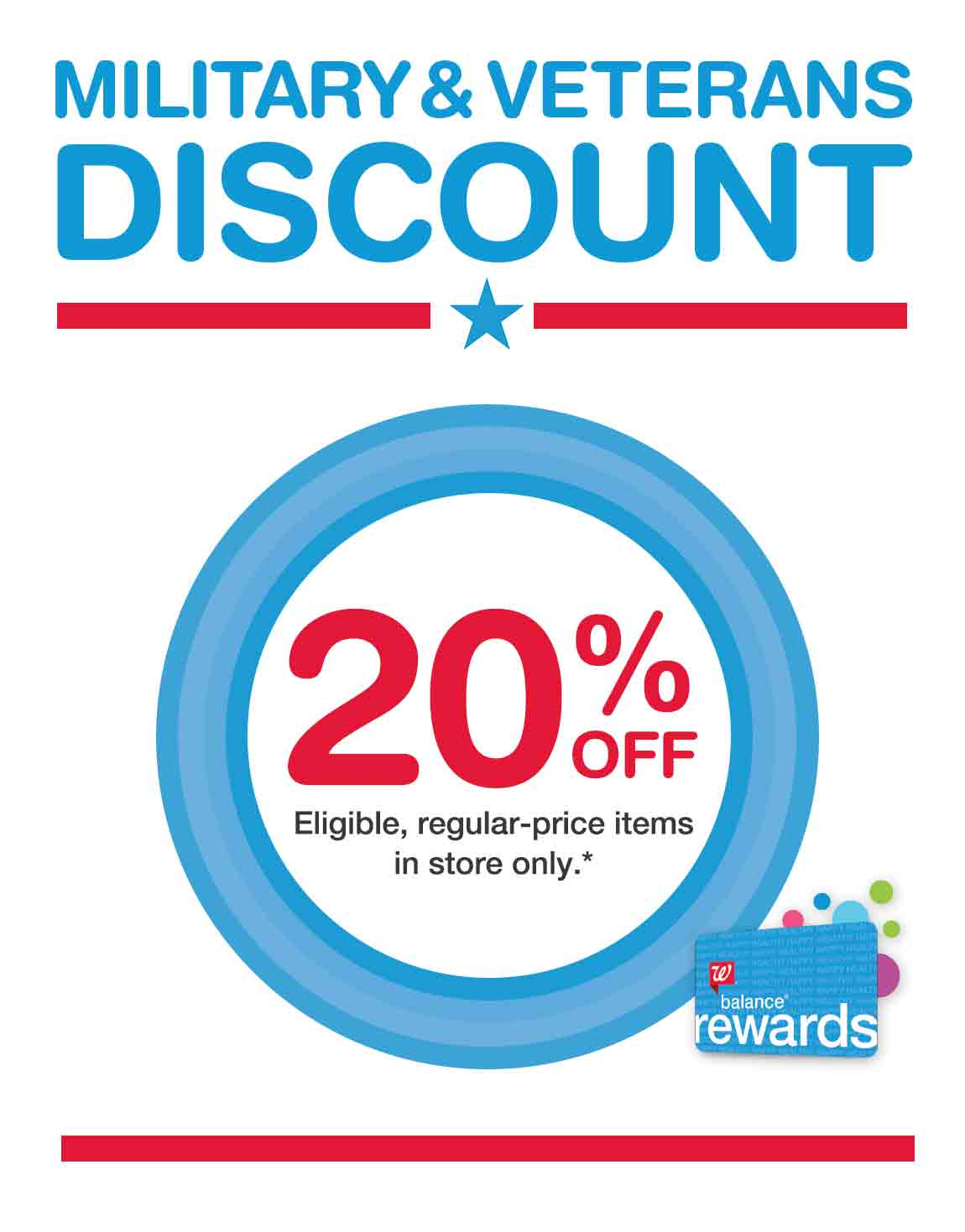 Your military ID can score you some pretty sweet retail discounts. Almost all the usual stores you'll find in a mall or outlet will offer somewhere around a 10% discount, but some places go well.