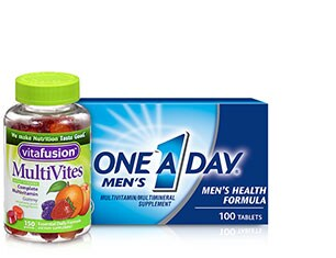 Vitamins & Supplements from One a Day Men's and more
