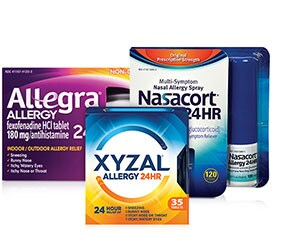 Allergy Relief products