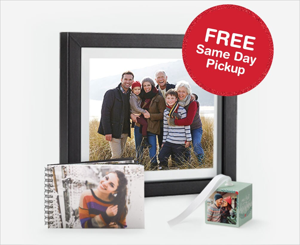 Create Personalized Photo Gifts. FREE Same Day Pickup.