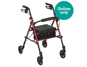 Drive Medical Harmony Adjustable Height Rollator - Online only