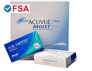 Contact Lenses. FSA Approved.