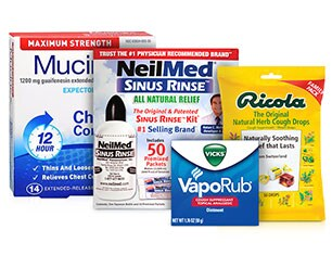 Cough, Cold & Flu Relief products