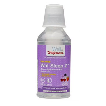 Walgreens Wal-Sleep Z Liquid Berry 12.0fl oz