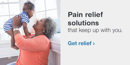 Pain relief solutions that keep up with you. Get relief.