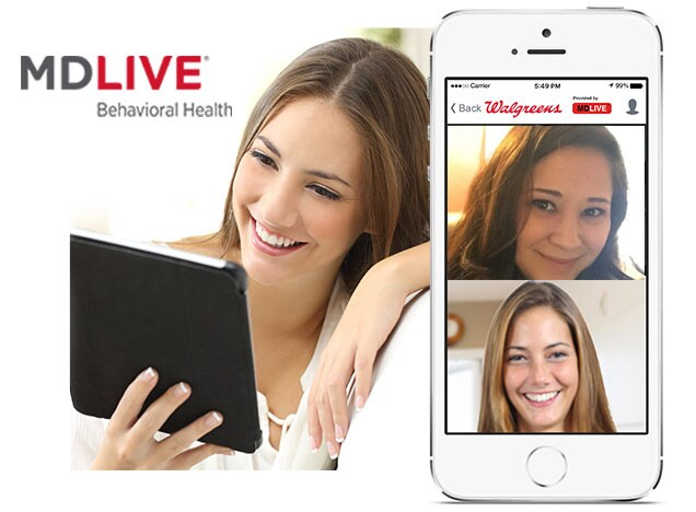 Walgreens Live Therapist Video Chat.