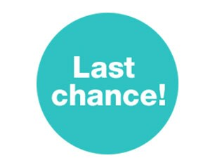 Last chance - Up to 60% off clearance