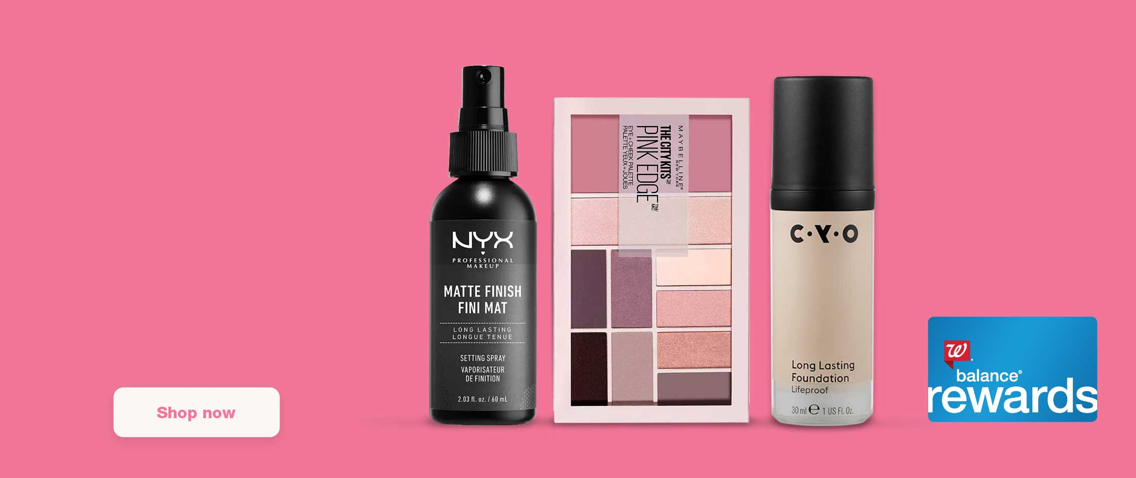 Buy 2 get 3rd FREE mix & match cosmetics, nail & accessories. Balance(R) Rewards. Shop now.