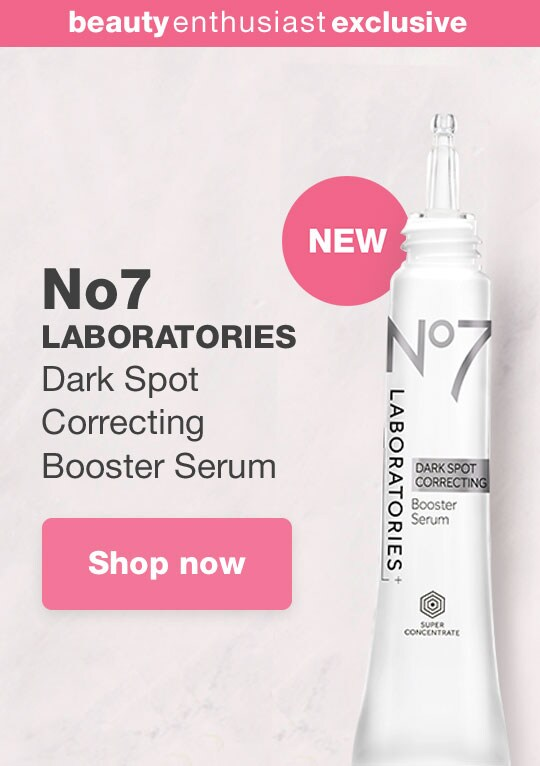 Beauty Enthusiast Exclusive. NEW No7 LABORATORIES Dark Spot Correcting Booster Serum. Shop now.