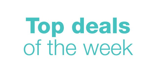Top deals of the week.