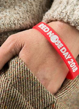 Red Nose Day - Wristband