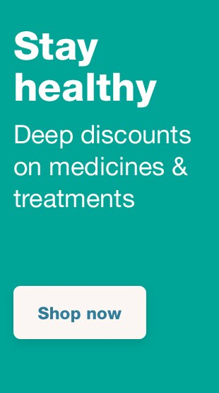 Stay healthy. Deep discounts on medicines & treatments. Shop now.