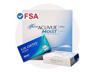 FSA approved contacts