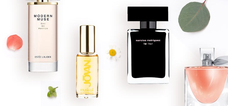 FRAGRANCES. Get the scents of the season.
