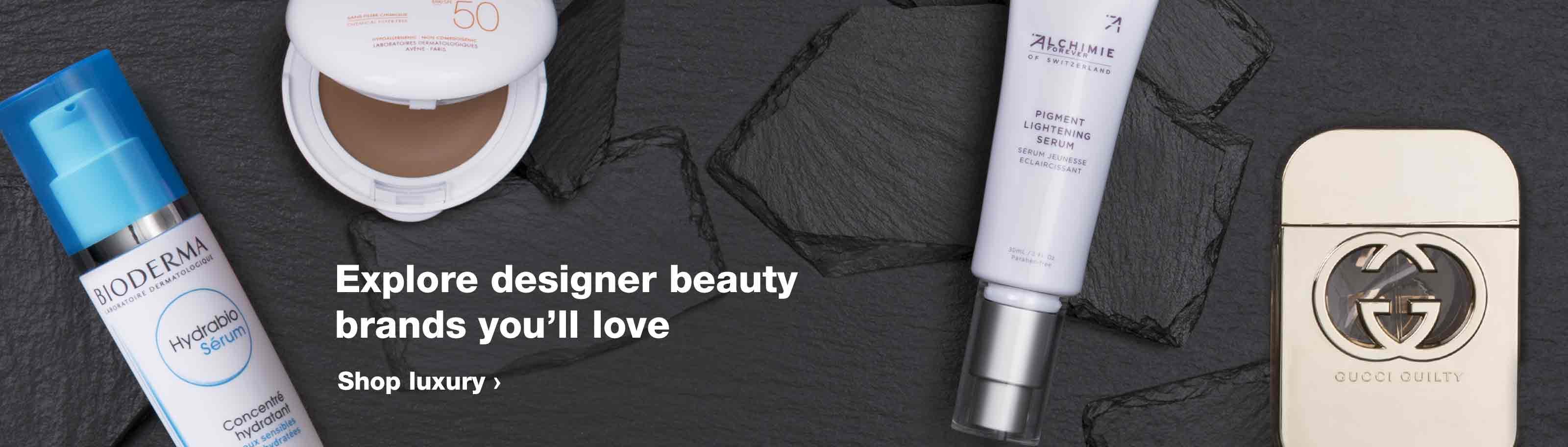 645ea15bb75 Explore designer beauty brands you'll love. Shop luxury.