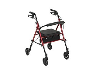 Drive Medical Harmony Adjustable Height Rollator
