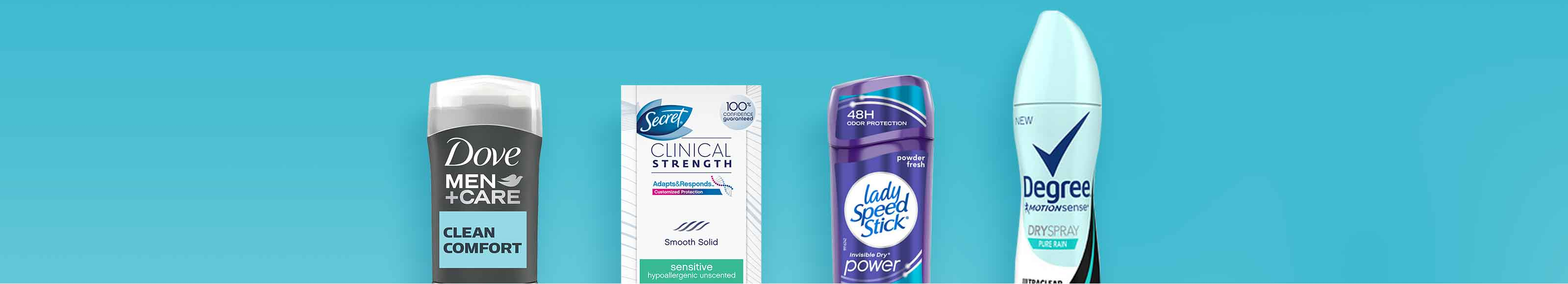 Deodorant and Antiperspirant