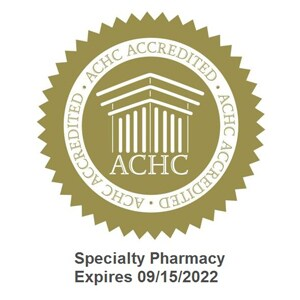 ACHC Specialty Pharmacy Expires 09/15/2022