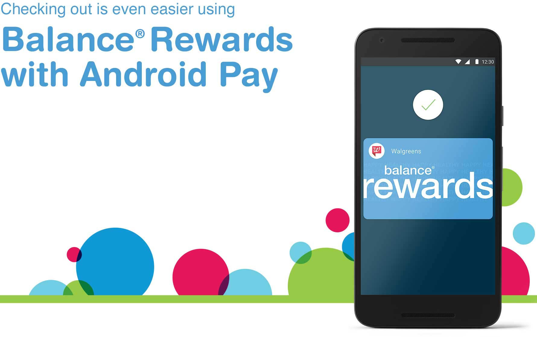Android Pay and Balance Rewards
