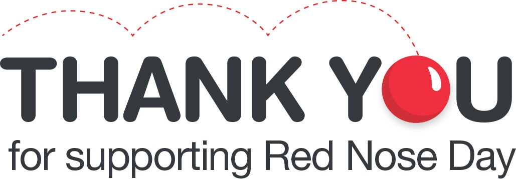 Thank You for supporting Red Nose Day
