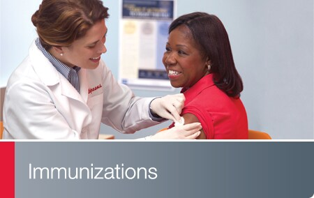Immunization Services - Walgreens pharmacist administering vaccine