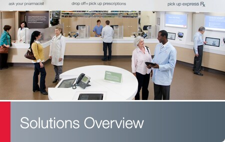 Solutions Overview - Walgreen  Well Experience store setting