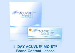 1-DAY ACUVUE� MOIST� Brand Contact Lenses