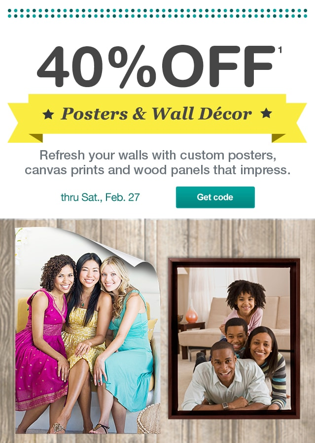 coupon code for poster prints at walgreens metrostyle coupons 40 off