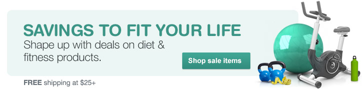 Deals on diet & fitness products. Shop sale items. FREE shipping at $25+.