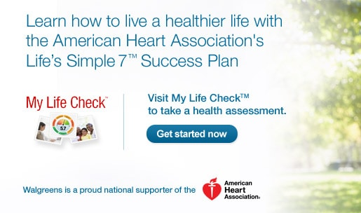 My Life Check. Visit My Life Check to take health assessment. Get started now.