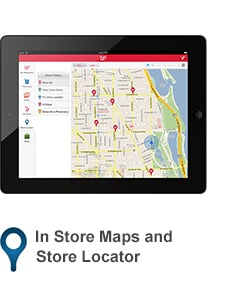 In Store Maps and Store Locator