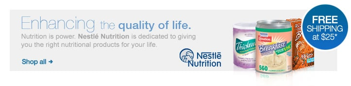 Nestle Nutrition. Enhancing the quality of life.