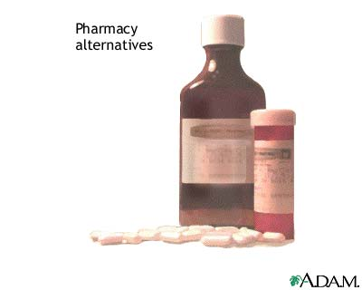 Pharmacy alternatives